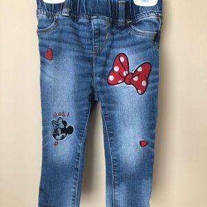 GAP Bottoms - Gap Kids Minnie Mouse Jeans